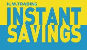 Instant Savings, July - August 2013