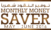 Monthly Money Saver May - June 2016