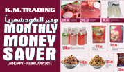 Monthly Money Saver - January - February 2014